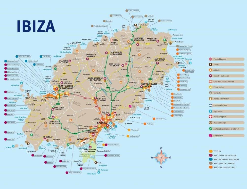 tips ibiza kaart