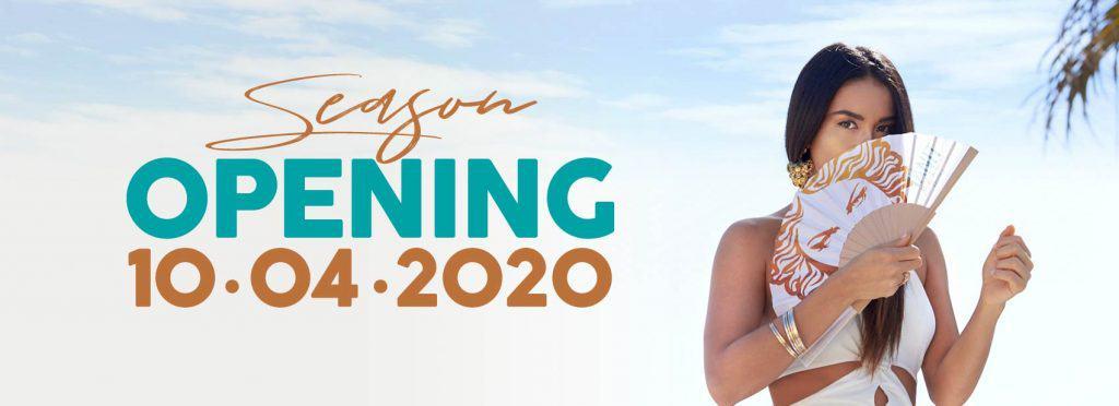 tanit beach ibiza opening 2020